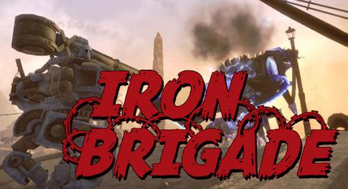 Cover for Iron Brigade.