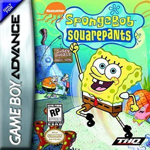Cover for SpongeBob SquarePants: SuperSponge.