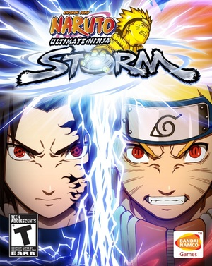 Cover for Naruto: Ultimate Ninja Storm.
