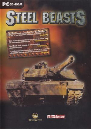 Cover for Steel Beasts.