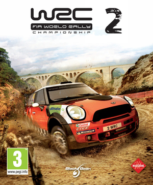 Cover for WRC 2: FIA World Rally Championship.
