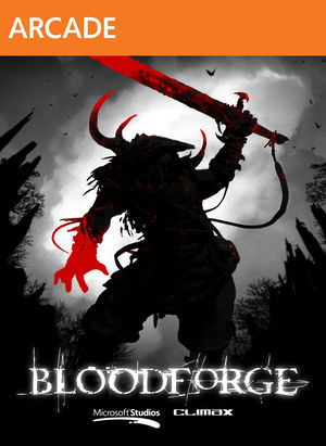 Cover for Bloodforge.