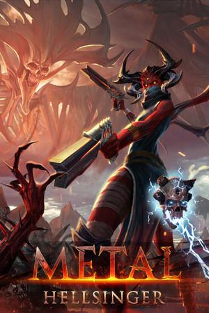 Cover for Metal: Hellsinger.