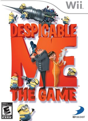 Cover for Despicable Me: The Game.