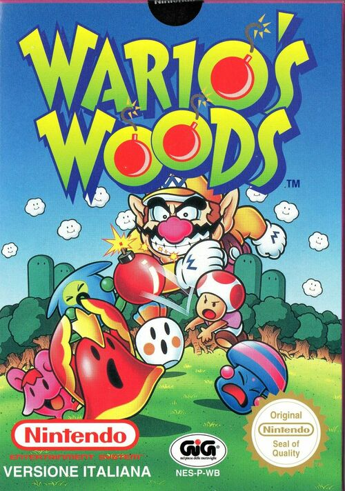 Cover for Wario's Woods.