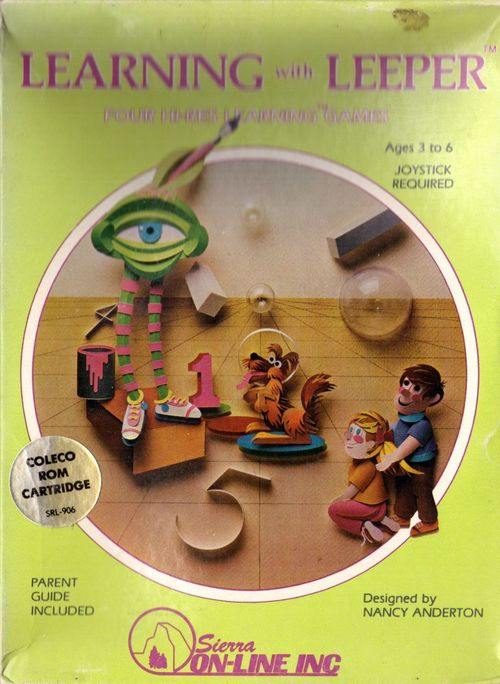 Cover for Learning with Leeper.