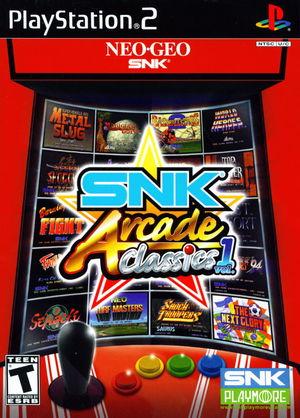 Cover for SNK Arcade Classics Vol. 1.