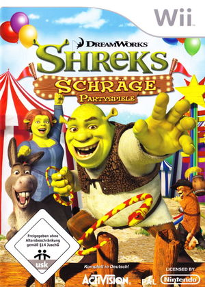 Cover for Shrek's Carnival Craze.