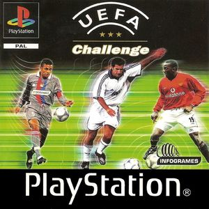 Cover for UEFA Challenge.