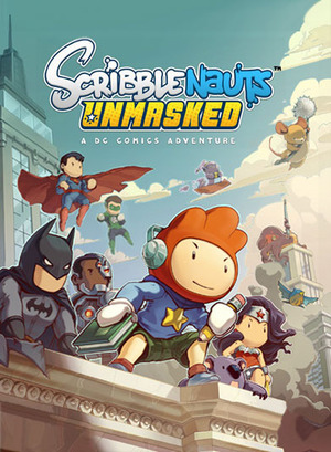 Cover for Scribblenauts Unmasked: A DC Comics Adventure.