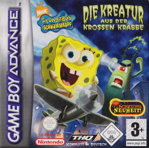 Cover for SpongeBob SquarePants: Creature from the Krusty Krab.