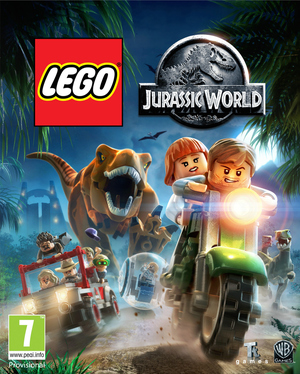 Cover for Lego Jurassic World.