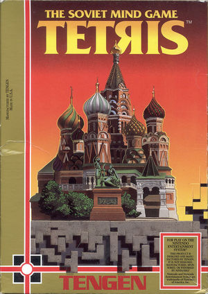 Cover for Tetris.