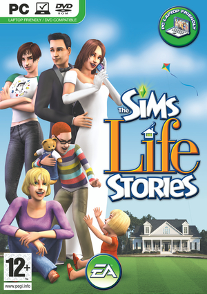 Cover for The Sims Life Stories.