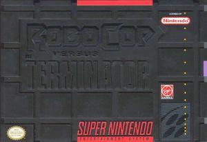Cover for RoboCop versus The Terminator.
