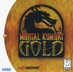 Cover for Mortal Kombat Gold.