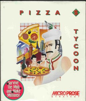 Cover for Pizza Tycoon.