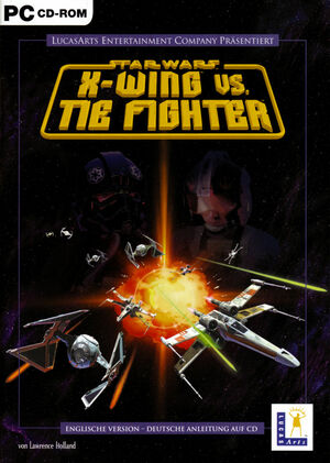 Cover for Star Wars: X-Wing vs. TIE Fighter.