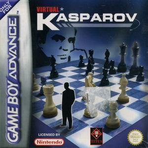 Cover for Virtual Kasparov.