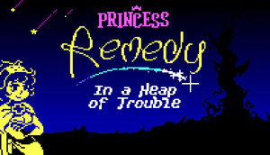 Cover for Princess Remedy In A Heap of Trouble.