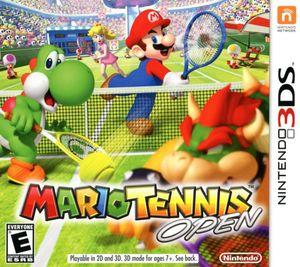 Cover for Mario Tennis Open.