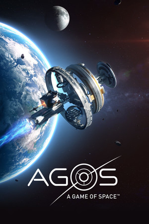 Cover for AGOS: A Game of Space.
