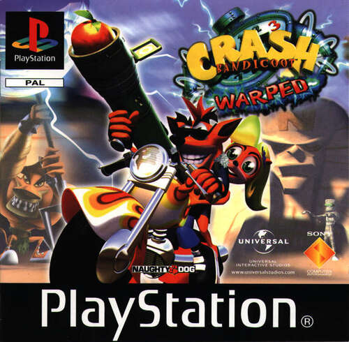 Cover for Crash Bandicoot 3: Warped.