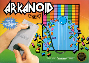 Cover for Arkanoid.
