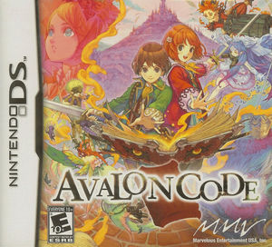 Cover for Avalon Code.