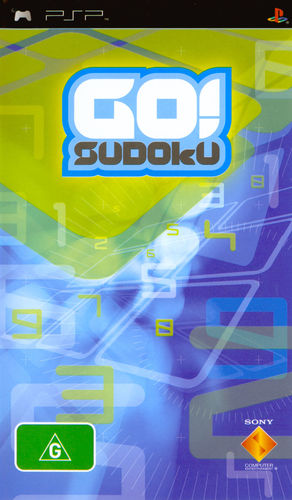 Cover for Go! Sudoku.