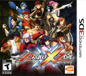 Cover for Project X Zone.