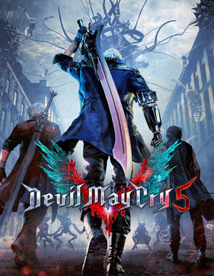 Cover for Devil May Cry 5.
