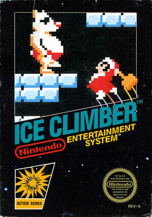 Cover for Ice Climber.