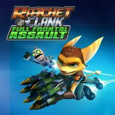Cover for Ratchet & Clank: Full Frontal Assault.