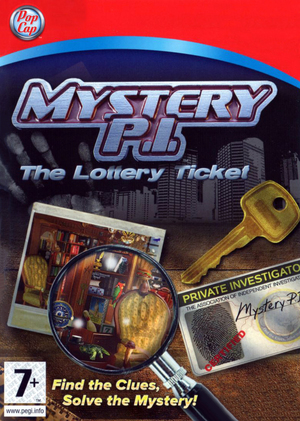 Cover for Mystery P.I.: The Lottery Ticket.