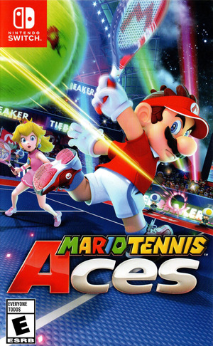 Cover for Mario Tennis Aces.