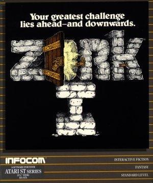 Cover for Zork I.