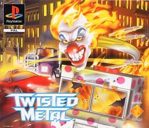 Cover for Twisted Metal.