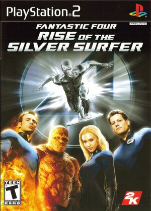 Cover for Fantastic Four: Rise of the Silver Surfer.