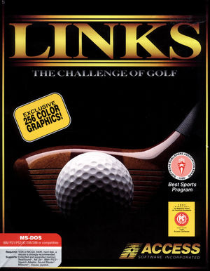 Cover for Links: The Challenge of Golf.