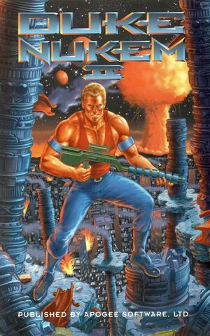 Cover for Duke Nukem II.