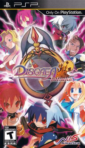 Cover for Disgaea Infinite.