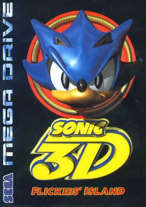 Cover for Sonic 3D.