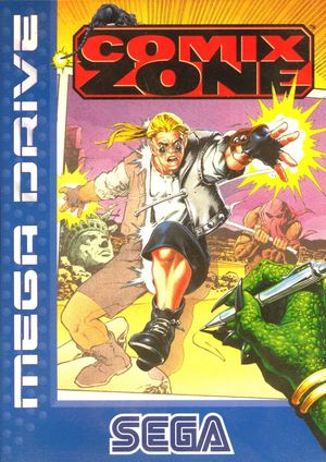 Cover for Comix Zone.