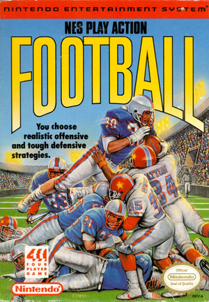 Cover for NES Play Action Football.