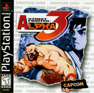 Cover for Street Fighter Alpha 3.