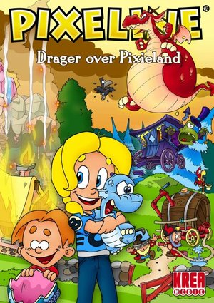 Cover for Pixeline: Drager over Pixieland.