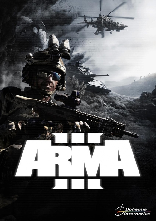Cover for ARMA 3.