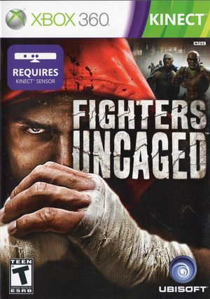 Cover for Fighters Uncaged.