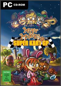 Cover for Myth Makers Super Kart GP.